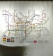 London Underground Map (Peva) Shower Curtain