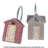 Linda Spivey Outhouse Rings/Hooks (Set of 12)