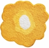 Poppy Flower Bath Rug (Yellow)