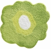 Poppy Flower Bath Rug (Green)