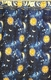 Solar Shower Curtain (Sun, Moon and Stars)