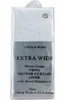 """Extra Wide Shower Curtain Liner (108"""" wide)"""