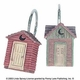 Linda Spivey Outhouse Shower Curtain Rings/Hooks (Set of 12)