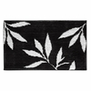 Leaves Rug (Black and White)