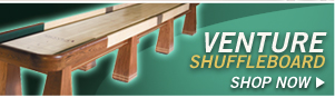 Shuffleboard Tables by Venture Shuffleboard