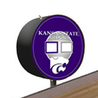 Kansas State Wildcats Shuffleboard Table Scoreboard
