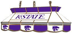 Kansas State Wildcats 7905 Series MVP Stained Glass Pool Table Light