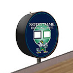 Notre Dame Fighting Irish Shuffleboard Table Scoreboard