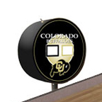 Colorado Buffalos Shuffleboard Table Scoreboard