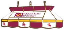 Arizona State Sun Devils 7905 Series MVP Stained Glass Pool Table Light