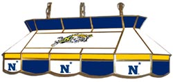 Naval Academy Midshipmen 7905 Series MVP Stained Glass Pool Table Light