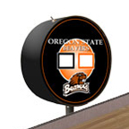 Oregon State Beavers Shuffleboard Table Scoreboard