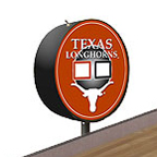 Texas Longhorns Shuffleboard Table Scoreboard