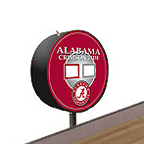 Alabama Crimson Tide Shuffleboard Table Scoreboard