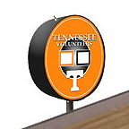 Tennessee Volunteers Shuffleboard Table Scoreboard