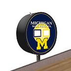 Michigan Wolverines Shuffleboard Table Scoreboard