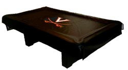 Virginia Cavaliers Billiard Table Covers