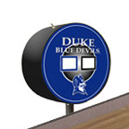 Duke Shuffleboard Table Scoreboard