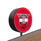 Arkansas Razorbacks Shuffleboard Table Scoreboard