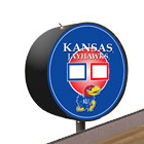 Kansas Jayhawks Shuffleboard Table Scoreboard
