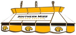 Southern Mississippi Golden Eagles 7905 Series MVP Stained Glass Pool Table Light