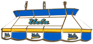UCLA Bruins 7905 Series MVP Stained Glass Pool Table Light