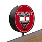 South Carolina Gamecocks Shuffleboard Table Scoreboard