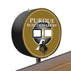 Purdue Boilermakers Shuffleboard Table Scoreboard