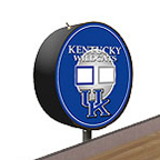 Kentucky Wildcats Shuffleboard Table Scoreboard