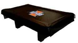 Illinois Fighting Illini Billiard Table Covers