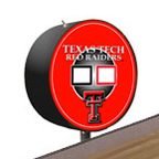 Texas Tech Red Raiders Shuffleboard Table Scoreboard