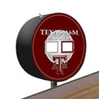 Texas A&M Aggies Shuffleboard Table Scoreboard