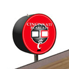 Cincinnati Bearcats Shuffleboard Table Scoreboard
