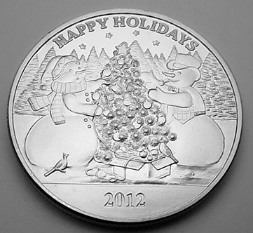 1 OZ. PURE SILVER MEDALLIONS