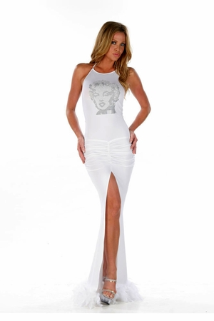 Stretch Micro Gown * 4537