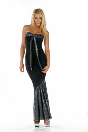 Stretch Micro Gown * 4559