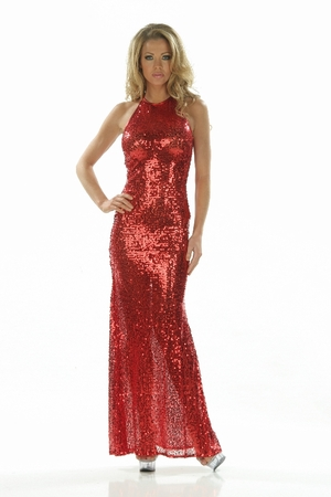 Sequins Gown * 4813