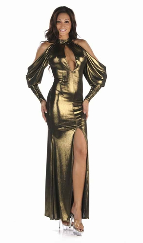 Stretch Shimmer Gown * 4916