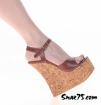 6? Heel Cork Wedge Sandal * W-511