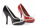 Peep Toe Pump * PH423-ROSE
