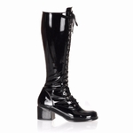 "2 1/2"" Block Heel Boot * RETRO-302"