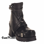 "2 1/4"" Gothic Boots * PIRATE-08"