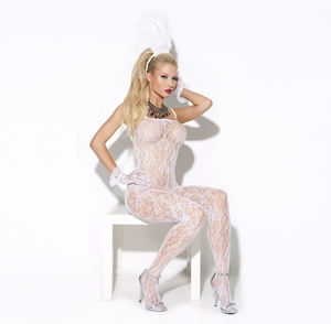 Lace Bodystocking  * 8596
