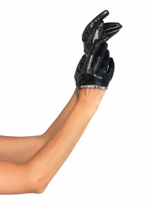 Faux Leather Glove * 2029