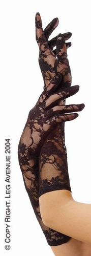 Elbow Length Stretch Lace Gloves * G1850
