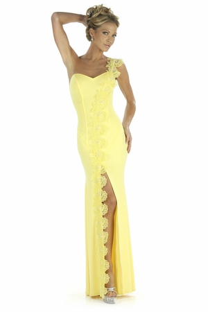 Sequin Lace Gown * 5245