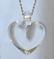 Sowers Crystal Heart Necklace