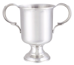 Woodbury Pewter Trophy Cup Medium / 8""