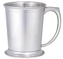 Woodbury Pewter Derby Mug Pair - 12 oz