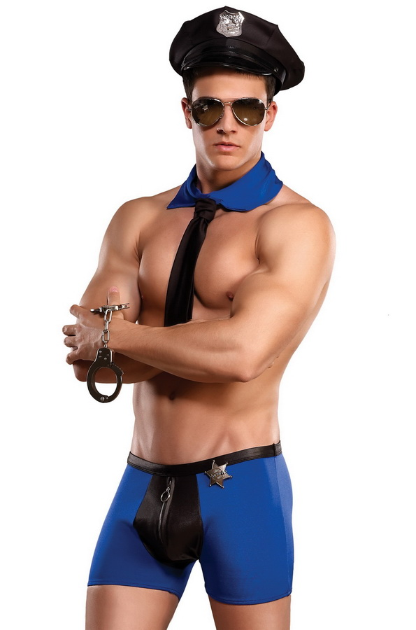 Sexy cop costume for men